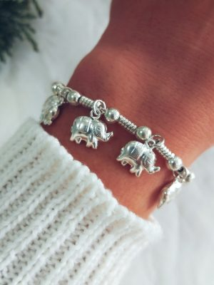 Pulsera Elephants